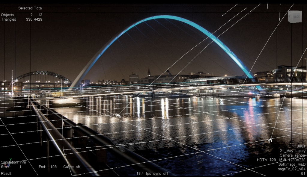 Milenium Bridge Soft Image Thinking Digital