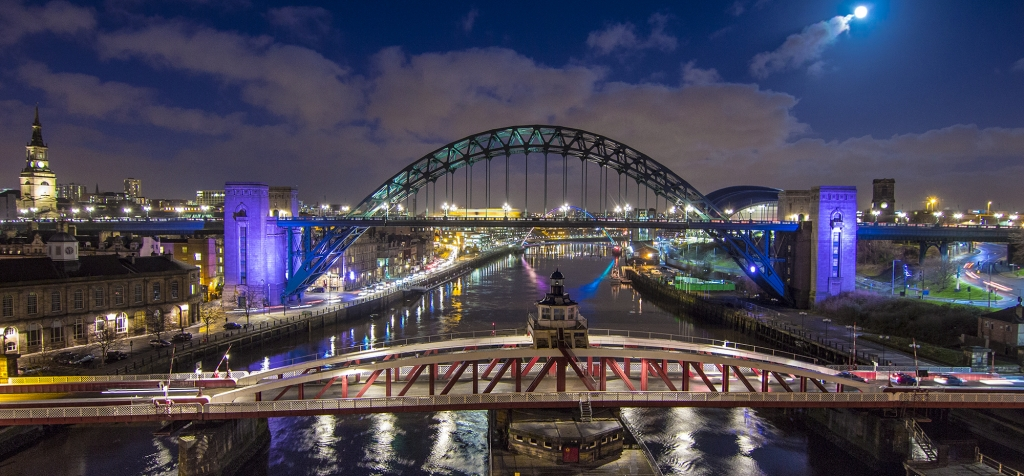 Newcastle Time Lapse